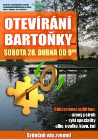 Otevírání Bartoňky