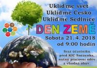 Den Země - Ukliďme svět, ukliďme Sedlnice